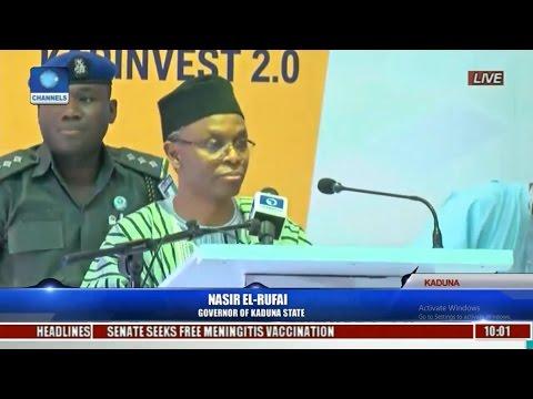 El-Rufai's Speech At 2017 Kaduna State Investment Summit Pt 1