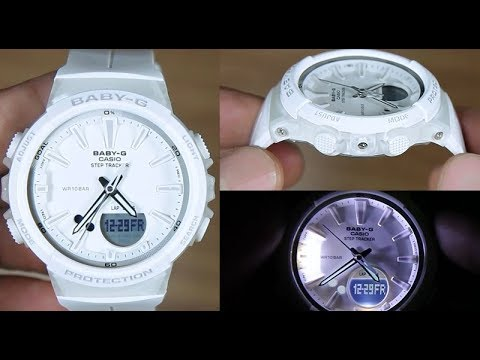 5becfb0b28c CASIO BABY-G STEP TRACKER BGS-100-7A1 - UNBOXING - YouTube