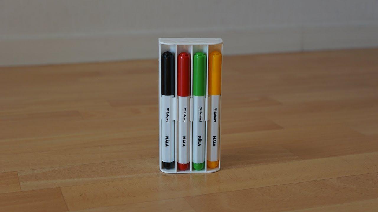 My Unboxing Deballage 70 Feutres Et 1 Brosse Tout En Un Ikea Mala Feutres Pour Tableau Blanc Youtube
