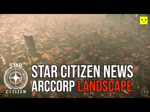 Star Citizen News | Alpha 3.5 Planet ArcCorp Landscape