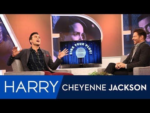 "Cheyenne Jackson Sings about ""American Horror Story"" Deaths"