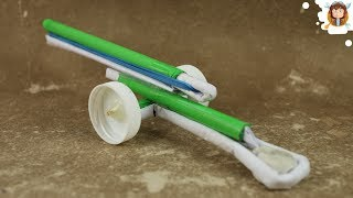How to make a Paper Cannon - Airsoft Gun - (Very Powerful)