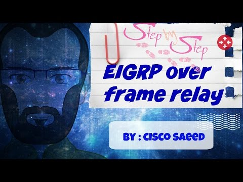 eigrp-over-frame-relay(step-by-step)