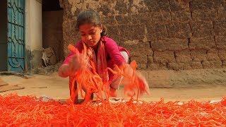 গ্রামের নাম 'সরলপুর', তৈরি হয় মচমচে 'ঝুরিভাজা'   TRADITIONAL CRISPY FOOD IN BANGLADESH