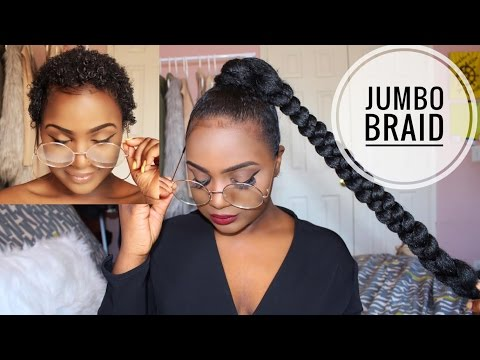 HOW TO | Sleek High Ponytail On Short Natural Hair