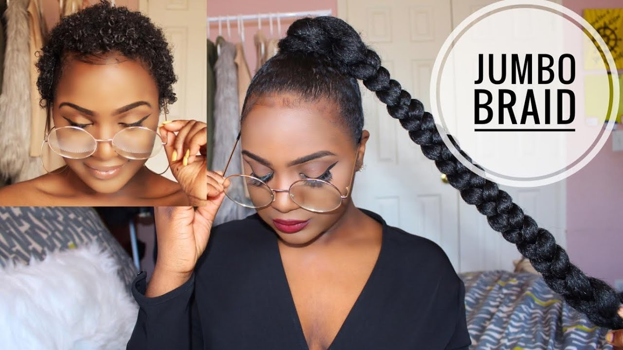 How To Sleek High Ponytail On Short Natural Hair Youtube