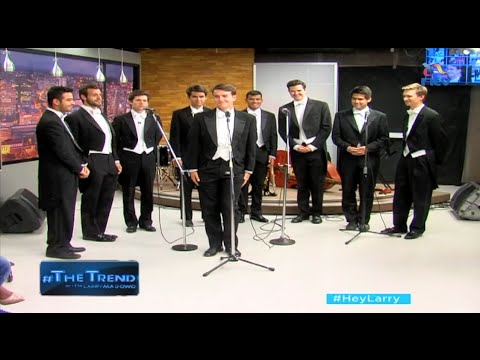 #theTrend: The Whiffenpoofs of Yale talk on their 20-country World tour