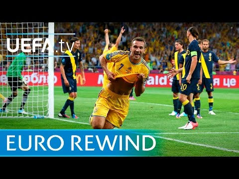 UEFA EURO 2012 Highlights: Ukraine 2-1 Sweden