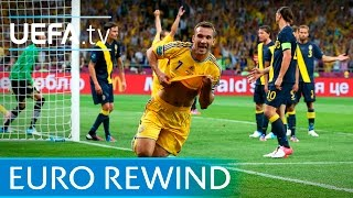UEFA EURO 2012 highlights: Ukraine 2-1 Sweden