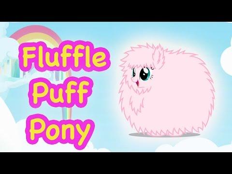 Custom FLUFFLE PUFF PONY My Little Pony...