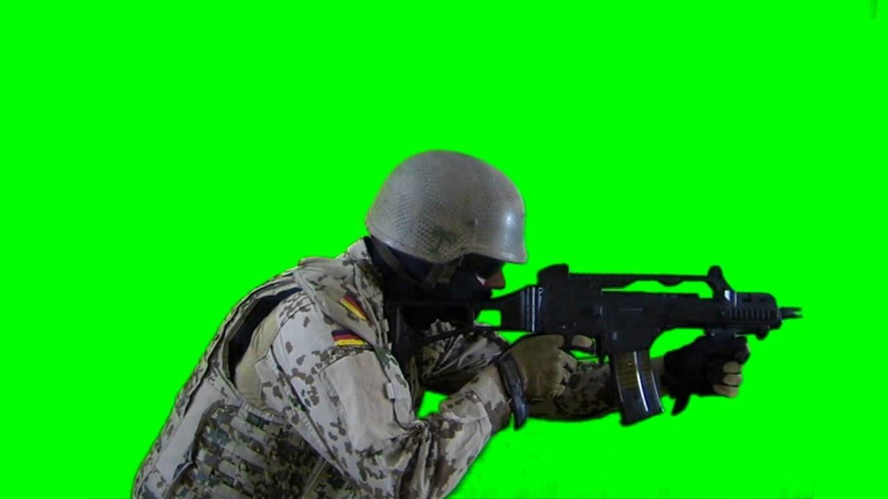 soldier is targeting real battlefield green screen footage 2