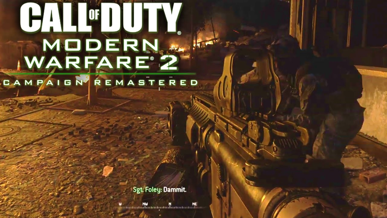 Modern Warfare 2 Campaign Remastered Second Sun Gameplay
