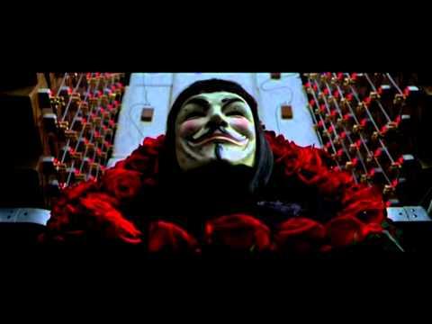 V for Vendetta - Revolution Scene
