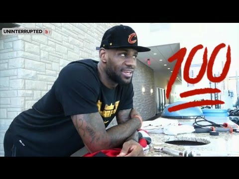LeBron James Reaction to Toronto Raptors