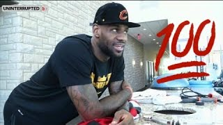 LeBron James Reaction to Toronto Raptors