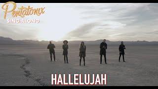 [SING-ALONG VIDEO] Hallelujah  Pentatonix