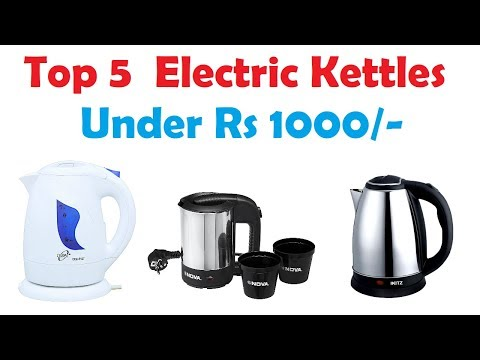 Top 5 Electric Kettles 😍 Under  Rs 1000/- || Highly Rated || Top Brands