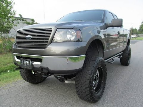 2006 ford f 150 xlt lifted truck youtube. Black Bedroom Furniture Sets. Home Design Ideas