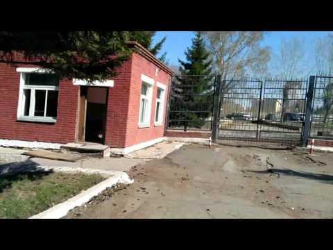 Брошенный военный городок МО РФ в центре города Новосибирска.