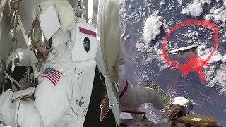 LA ASTRONAUTA MAS LONGEVA DE LA NASA GRABA UN OVNI ?