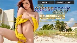 [ElectroHouse 1hr Live Mix] + Monstafluff Guest Mix | Quadrasonik Podcast 007: Rendezvous