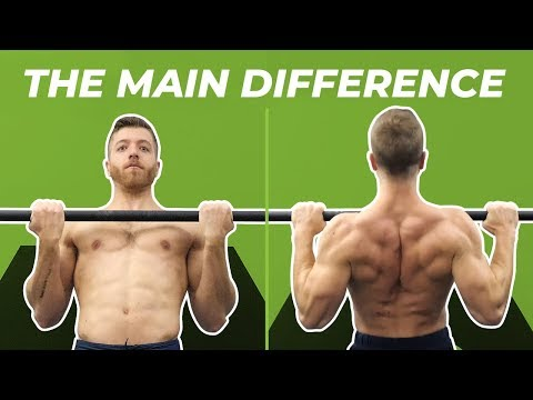 chin-ups-vs.-pull-ups-—-the-difference,-muscles-worked,-and-benefits