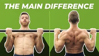 CHIN UPS vs. PULL UPS - The Difference, Muscles Worked, and Benefits