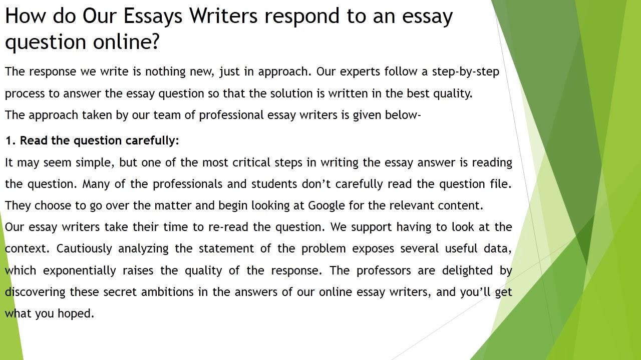 Rutgers essay sample