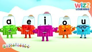 Phonics - The Vowels | Alphablocks | Learn to Read | Wizz Learning