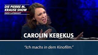 Carolin Kebekus zeigt ihre Möpse