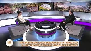 Magyarország lakosságának 80%-a támogatja a Liget Budapest Projekt minden fejlesztését
