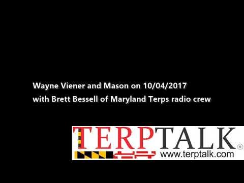Maryland Football - TerpTalk Radio Show 2017 10 04 guest Brett Bessell