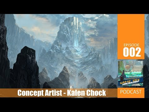 Freelance Artist Kalen Chock Podcast - Game Dev Unchained Archive