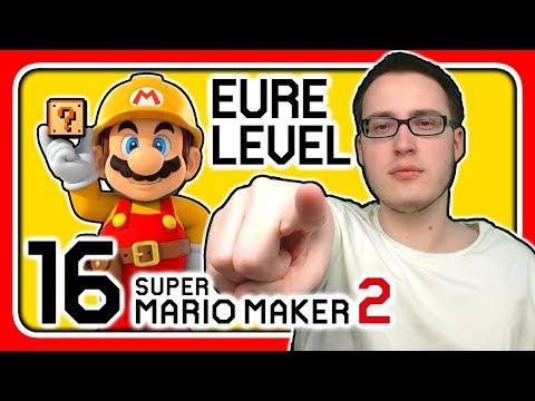 Livestream! Super Mario Maker 2 [EURE Level] (Stream 16)
