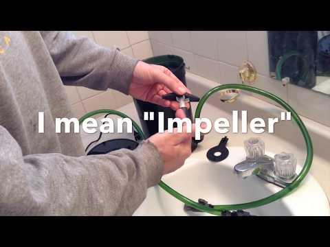 Jeff Doin' Stuff - Eheim 2215 Impeller Modification