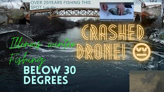 Ultimate Rookie Mistake Huge Winter Crappie Fishing Illinois below 30degree Feature Kostabum Fishin