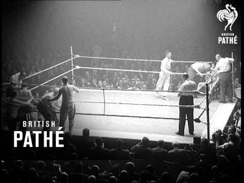 Pat Mcateer New Middleweight Champion 1955