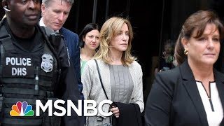 Felicity Huffman Reports To Prison For 14-Day Sentence | Velshi & Ruhle | MSNBC