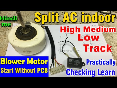 [NRIO_4796]   Split AC Indoor Blower motor wiring diagram fan motor speed wire track High  low medium find learn - YouTube | Ac Brushless Fan Motor Wiring Diagram |  | YouTube