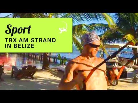 SPORT AUF REISEN | TRX am Strand in Belize
