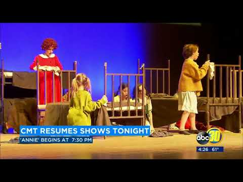 Childrens Musical Theaterworks performs 'Annie' in Downtown Fresno