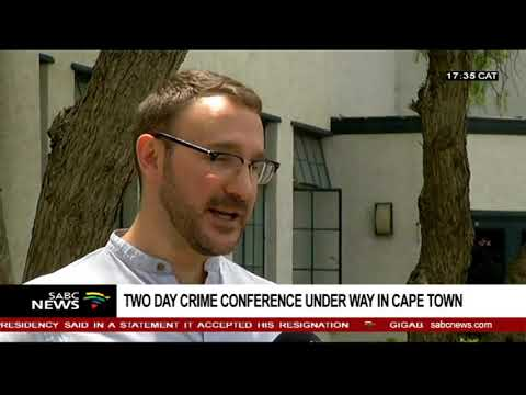 Two day crime conference underway in Cape Town
