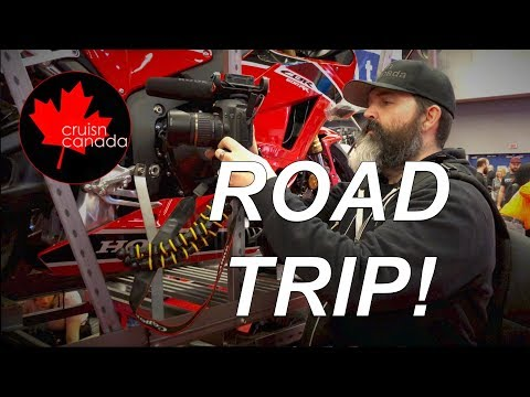 Road Trip!  Montreal Motorcycle Show 2018