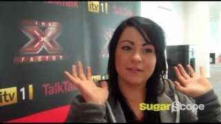 X Factor's Lucy Spraggan interview: talks music, babies and gets her bum out