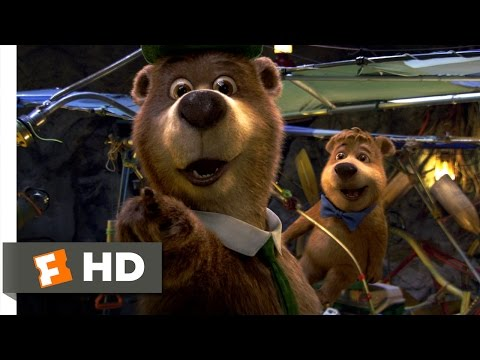 Yogi Bear (4/10) Movie CLIP - Yogi's New Invention (2010) HD