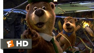 Yogi Bear (4/10) Movie CLIP - Yogi's New Invention (2010) HD