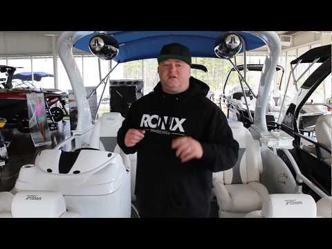 Boat of the Day!!!  2018 JC Sporttoon 26TT Twilight blue