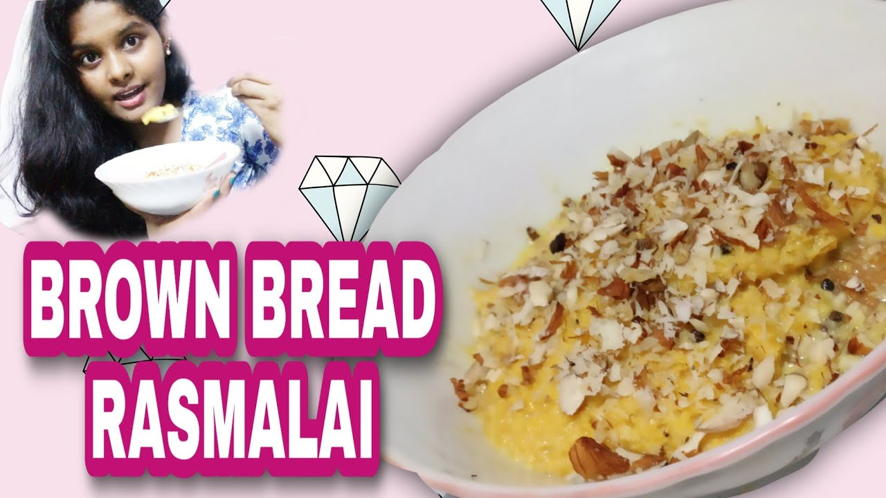 Brown Bread RASMALAI recipe in Malayalam|| It's me Ashly ...