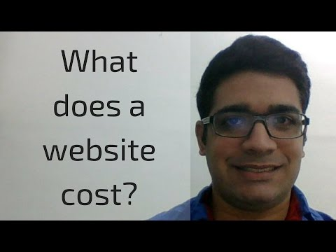 How much does it cost to build a website?