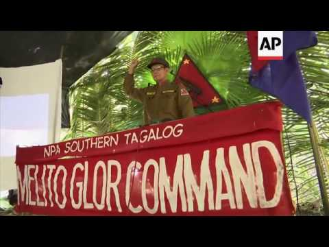 Rebels see Philippine-US ties troubling peace deal